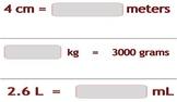 Video Tutorial 5.MD.1 Convert Measurement Units
