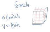 Video Tutorial 5.MD.5b  Apply Volume Formulas