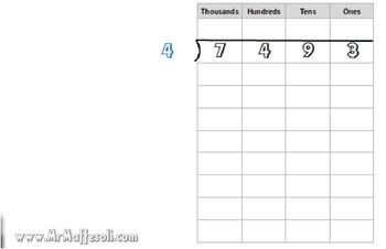 Video Tutorial 5.NBT.6 Find whole-number quotients of whole numbers