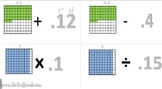 Video Tutorial 5.NBT.7  Add, subtract, multiply, and divide decimals