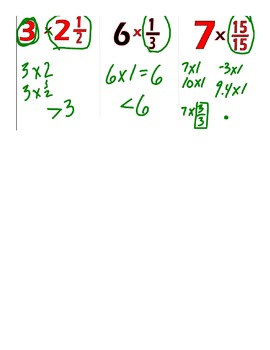 Video Tutorial 5.NF.5b Multiplying Fractions by Fractions Greater Than 1