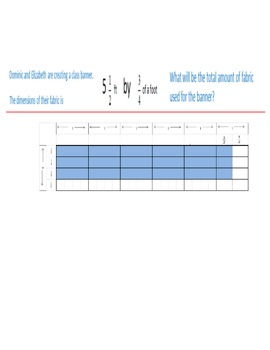 Video Tutorial 5.NF.6 Real World Multiplication of Fractions Situations