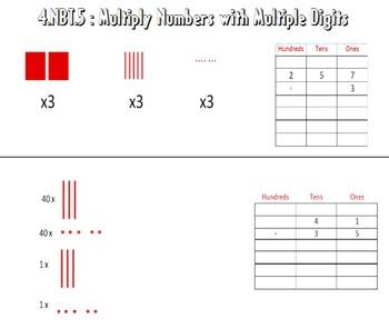 Video Tutorial: Common Core Math Standard 4.NBT.5 (Multiplication Algorithms)