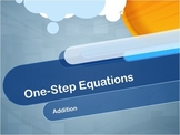 Video Tutorial: One-Step Equations--Addition