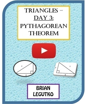 Video Tutorial & Quiz - Day 3 of Triangles: The Pythagorean Theorem