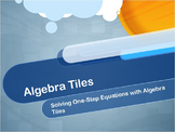 Video Tutorial: Solving One-Step Equations Using Algebra Tiles