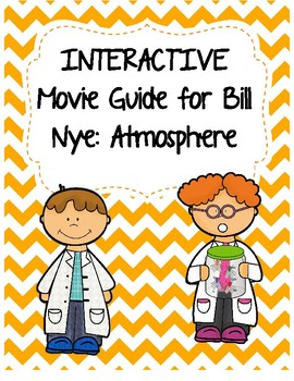 Video Worksheet (Movie Guide) for Bill Nye - Atmosphere QR