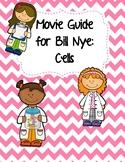 Video Worksheet (Movie Guide) for Bill Nye - Cells QR code link