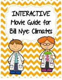 Video Worksheet (Movie Guide) for Bill Nye - Climates QR code link