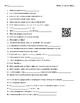 Video Worksheet (Movie Guide) for Bill Nye - Comets and Meteors QR code link