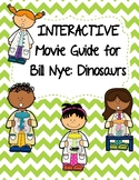 Video Worksheet (Movie Guide) for Bill Nye - Dinosaurs QR code link