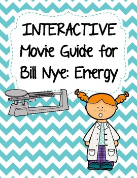 Video Worksheet (Movie Guide) for Bill Nye - Energy QR code link