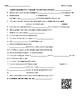 Video Worksheet (Movie Guide) for Bill Nye - Farming QR code link