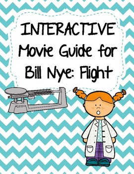 Video Worksheet (Movie Guide) for Bill Nye - Flight QR code link