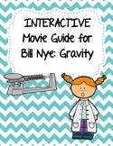 Video Worksheet (Movie Guide) for Bill Nye - Gravity QR code link