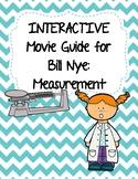 Video Worksheet (Movie Guide) for Bill Nye - Measurement QR code link