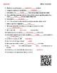 Video Worksheet (Movie Guide) for Bill Nye - Momentum QR code link