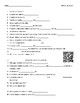 Video Worksheet (Movie Guide) for Bill Nye - Nutrition QR code link