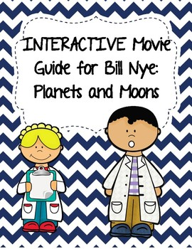 Video Worksheet (Movie Guide) for Bill Nye - Planets and M