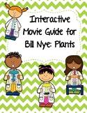 Video Worksheet (Movie Guide) for Bill Nye - Plants QR code link