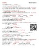 Video Worksheet (Movie Guide) for Bill Nye - Populations QR code link