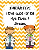 Video Worksheet (Movie Guide) for Bill Nye - Rivers and Streams QR code link