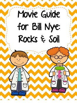 Video Worksheet (Movie Guide) for Bill Nye - Rocks and Soil QR code link