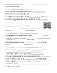 Video Worksheet (Movie Guide) for Bill Nye - Science of Music QR code link