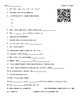 Video Worksheet (Movie Guide) for Bill Nye - Skin QR code link