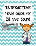 Video Worksheet (Movie Guide) for Bill Nye - Sound QR code link