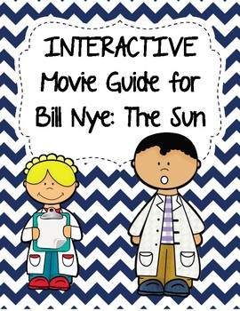 Video Worksheet (Movie Guide) for Bill Nye - The Sun QR code link