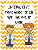 Video Worksheet (Movie Guide) for Bill Nye - The Water Cycle QR code link