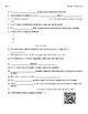 Video Worksheet (Movie Guides) for Bill Nye - Earth Science Bundle QR code links