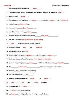 Bill Nye Life Cycles Worksheet Worksheets for all | Download and ...