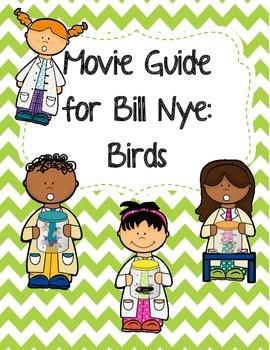 Video Worksheet (Movie Guide) for Bill Nye - Birds