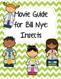 Video Worksheet (Movie Guide) for Bill Nye - Insects