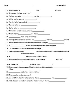 bill nye wind science worksheet bill best free printable worksheets. Black Bedroom Furniture Sets. Home Design Ideas