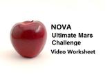 """Video Worksheet for PBS documentary """"NOVA Ultimate Mars Challenge"""""""