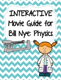 Video Worksheets (Movie Guide) for Bill Nye - Physics Bundle QR Code link