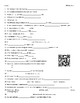 Video Worksheets (Movie Guides) for Bill Nye - Life Science Bundle QR Codes