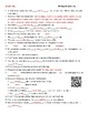 Video Worksheets (Movie Guides)  for Bill Nye - Living Things Bundle QR codes