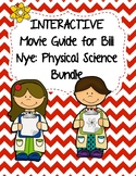 Video Worksheets (Movie Guides) for Bill Nye - Physical Science Bundle QR Code