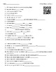 Video Worksheets (Movie Guides) for Bill Nye - Space Science Bundle QR Code link