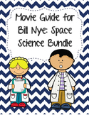 Video Worksheets (Movie Guides) for Bill Nye - Space Science Bundle