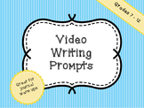 Writing Bell Ringers - Video Writing Prompts