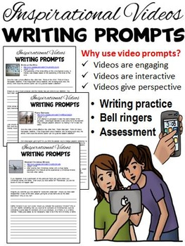 Video Bell-Ringer Writing Prompts