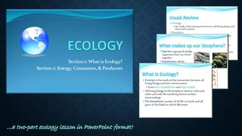 Video for Flipped Classroom - Ecology Unit Part I