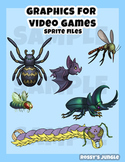 Video game character sprites for programming 2D critters - August 2016