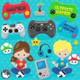 Video game clipart commercial use, vector graphics  - CL1106