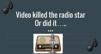 Video killed the Radio Star - Radio Advertising